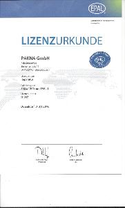 PAKNA EPAL-Lizenz