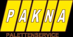 PAKNA GmbH Palettenservice Logo
